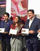 Sandeep Marwah Inaugurated Exhibition of Paintings by Savya Jain