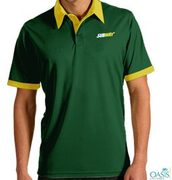 Subway Green Yellow Half Sleeve T-shirt