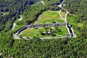 Мезек - крепостта общ изглед
