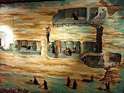 Аладжа манастир - рисунка панорама