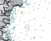 Карта на културните обекти в Черно море  2