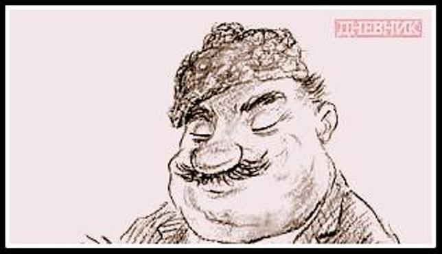 Бай Ганьо - Кар. портрет   2