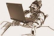 Бай Ганьо с компютър   2