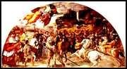 Атила-среща на Папа Лъв І и Кан Атила,мирни преговори
