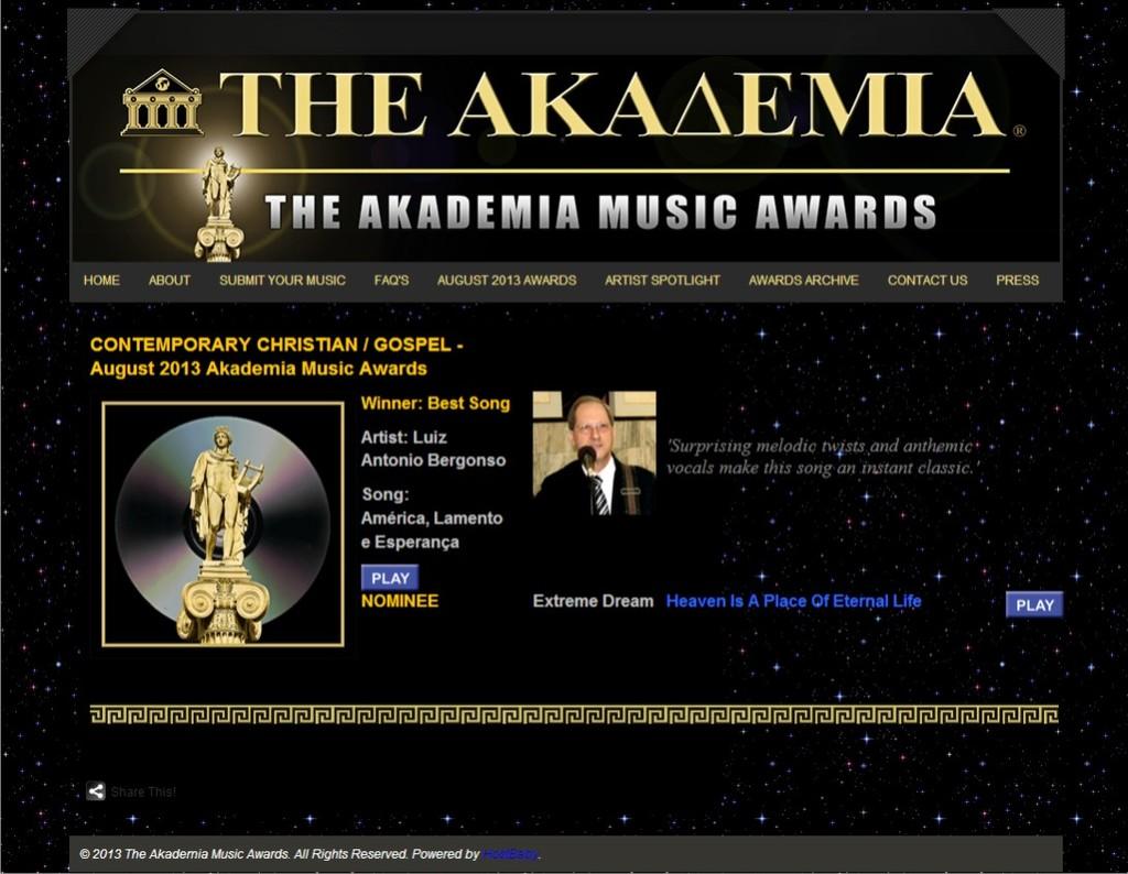 The Akademia Music Awards - Agosto 2013