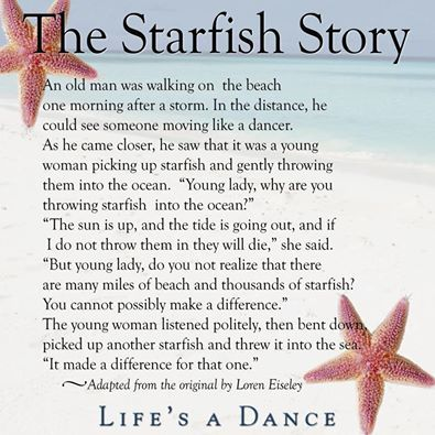 photograph about Starfish Story Printable named Starfish Tale EFL Clroom