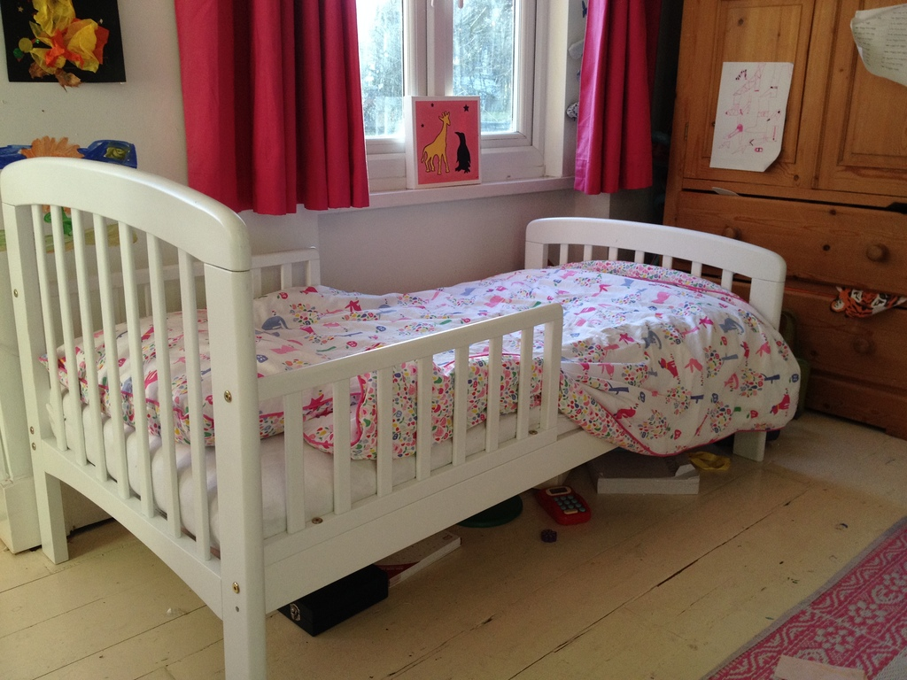 size 40 df6b7 4d73d JOHN LEWIS TODDLER BED, MATTRESS & ACCESSORIES FOR SALE £90 ...