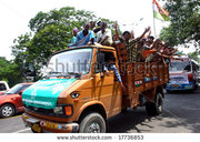 stock-photo-calcutta-india-june-a-group-of-hindu-people-riding-the-then-political-meeting-june-17736853