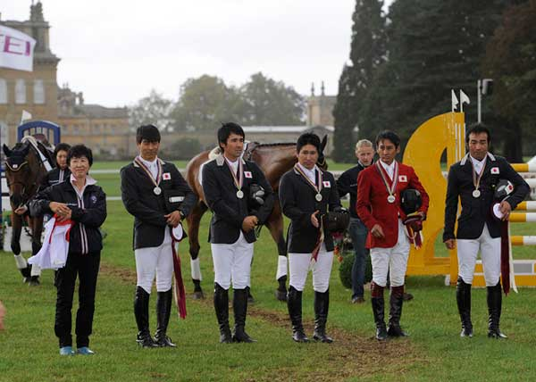 London 2012 Japan Secures Olympic Eventing Qualification