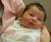 My new granddaughter Chloe Madison