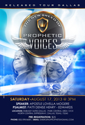The New Breed of Prophetic Voices Released  Tour - Dallas, TX