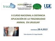 CURSO DE TRAZABILIDAD ANIMAL POR INTERNET