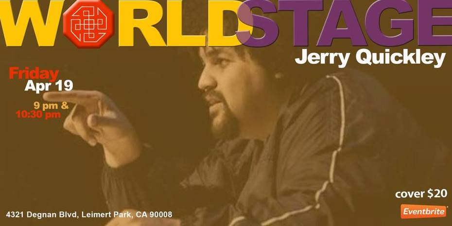 "JERRY QUICKLEY (american) FOOL - Only US West Coast show! w/ ██████ (redacted) ""collabo-"""