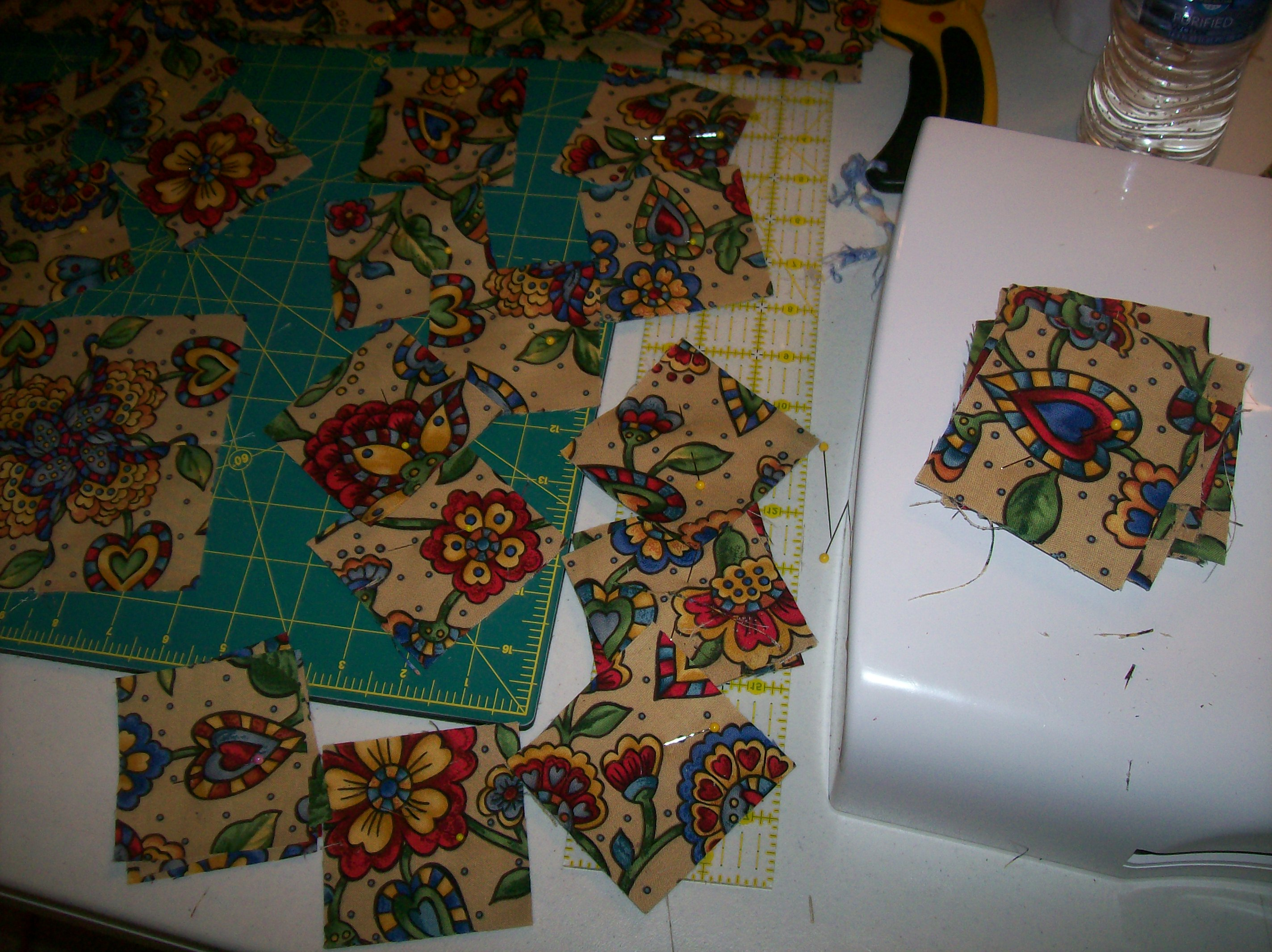 Stack N Whack Pictures Of Process And Directions Quilt With Us