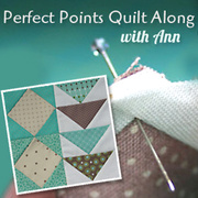 Perfect Points Quilt Along