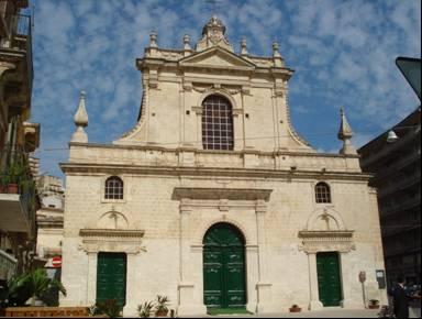 Modica Chiesa di S Maria di Betlem