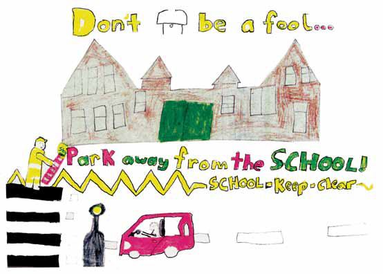 Bounds Green School Junior Road Safety Officers - Bowes and Bounds
