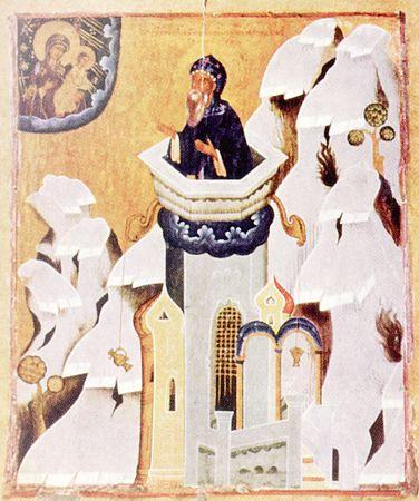 ღირსი სვიმონ მესვეტე, წმინდათა ცხოვრება, თვენი, ივნისი, ქველი, qwelly, june