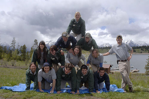 Housekeepers at Signal Mountain Lodge