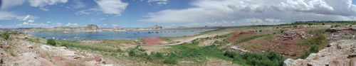 Wahweap Marina at Lake Powell