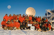 End of the Winter Group Shot from the South Pole