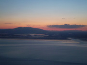 Flying in to Anchorage