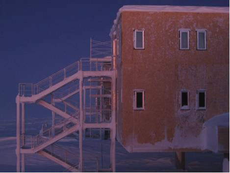 Winter Life at the South Pole