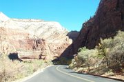 Entry into Zion National Park