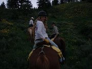 Riding in the WY/ID Mountains