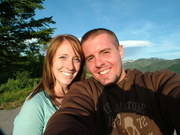 mike and meagan in the tetons