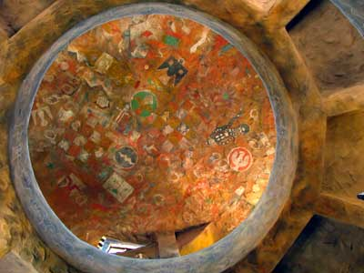 Ceiling of Desert View Watchtower