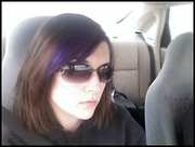 me with my purple hair last year