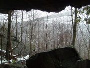 Looking at the Bridge from a Cave
