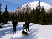 skiing on the Kenai Peninsula
