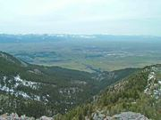 bozeman and gallatin valley from sypes canyon trail internet size