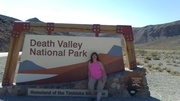 Sunny in Death Valley