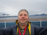 Selfie on a cruise ship