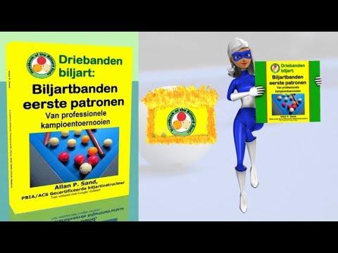 Video boeken voor Driebanden biljart: Biljartbanden eerste patronen (nl)