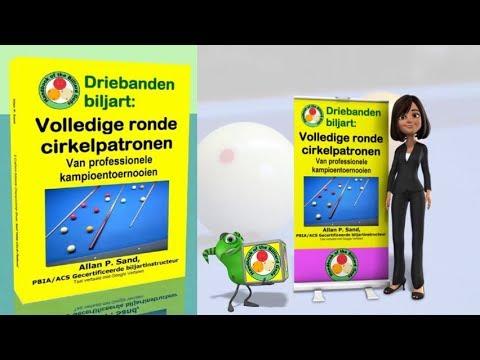 Video boeken voor Driebanden biljart: Volledige ronde cirkelpatronen (nl)