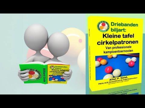 Video boeken voor Driebanden biljart: Kleine tafel cirkelpatronen (nl)
