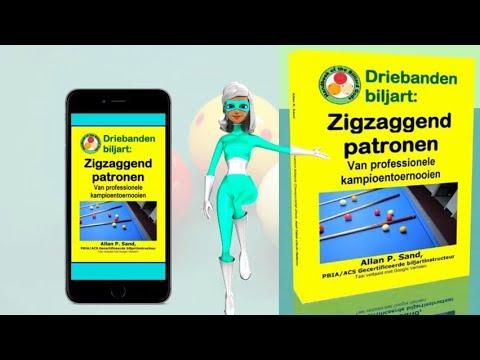 Video boeken voor Driebanden biljart: Zigzaggend patronne (nl)
