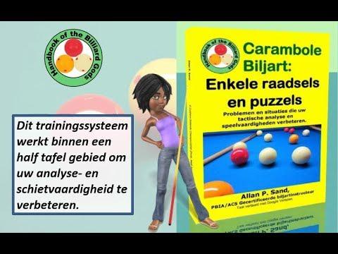 Video boeken voor Carambole Biljart: Enkele raadsels en puzzels (nl)