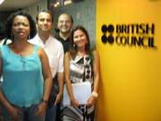 Cristina, Elton, Laecio e Jaryza no 2nd Summer Seminar(1)