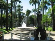 Vista dos jardins do Palácio do Governo em Recife - PE