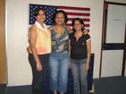 Jane, Cristina e Rita.