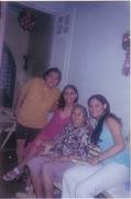 Vó, tia nenê, Neri e eu
