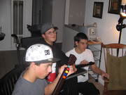 A little Guitar Hero with friends