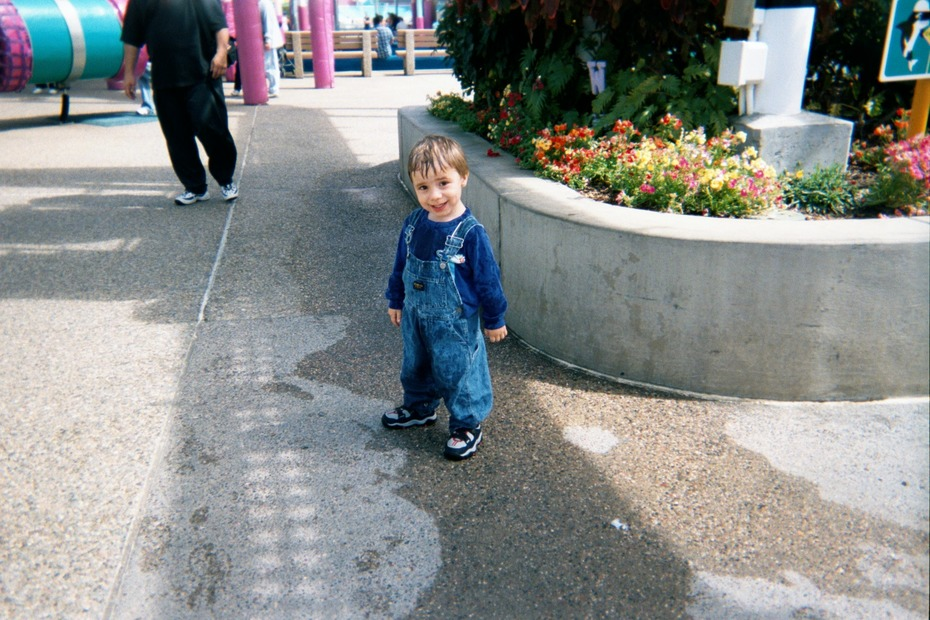 Cole at Sea World