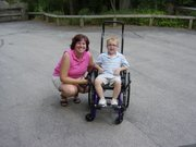Mom and I at the zoo