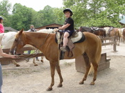 Daniel - riding in the Smokey Mountains 2008